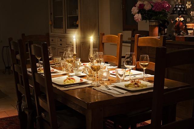 décorer table salle à manger
